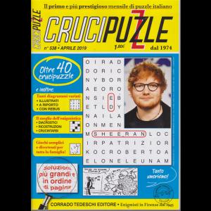 Crucipuzzle - n. 538 - aprile 2019 - mensile - oltre 40 crucipuzzle