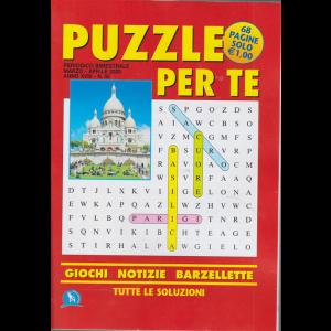 Puzzle per te - n. 60 - bimestrale - marzo - aprile 2020 - 68 pagine