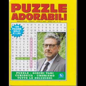 Puzzle adorabili - n. 43 - bimestrale - marzo -aprile 2020 - 196 pagine