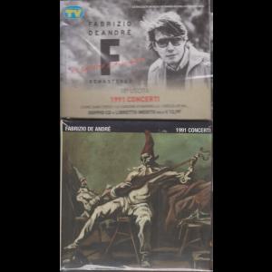 Le raccolte musicali di Sorrisi n. 5 del 4 febbraio 2020 - Fabrizio De Andrè uscita - n. 18 - 1991 concerti - doppio cd + libretto inedito