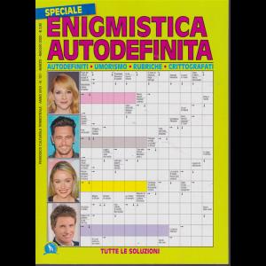 Speciale Enigmistica autodefinita - n. 101 - trimestrale - marzo -maggio 2020