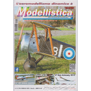 L'aeromodellismo dinamico è Modellistica international - n. 2 - mensile - febbraio 2020