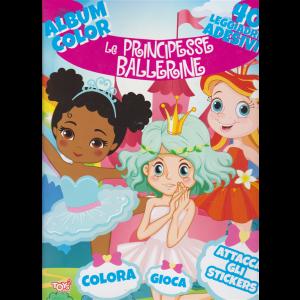 Album color Le principesse ballerine - n. 15 - bimestrale - 23 gennaio 2020 -