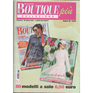 La mia boutique più collezione - n. 46 - trimestrale - 6 febbraio 2020 -