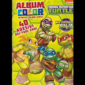 Album color Mini tartarughe Ninja - n. 36 - bimestrale - 16 gennaio 2020