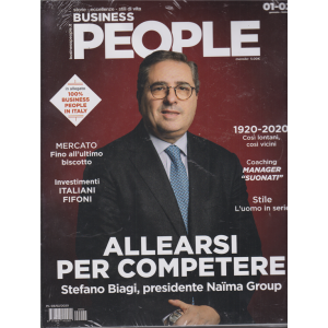 Business People + in allegato 100% business People in Italy - 2 riviste - n. 2 - gennaio - febbraio 2020 - mensile