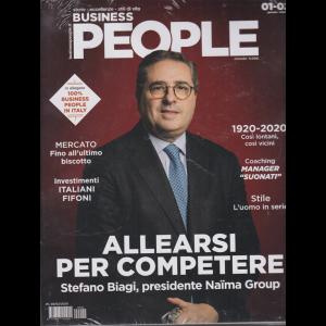 Business People + in allegato 100% business People in Italy - 2 riviste - n. 2 - gennaio - febbraio 2020 - mensile