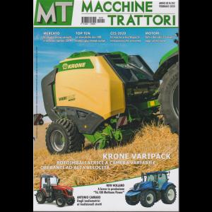 MT Macchine trattori - n. 202 - febbraio 2020 - mensile