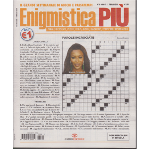 Enigmistica più - n. 6 - 11 febbraio 2020 - settimanale