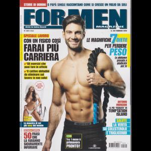 For men  magazine - n. 204 - febbraio 2020 - mensile