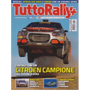 Tutto Rally - n. 2 - febbraio 2020 - mensile -