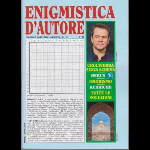 Enigmistica d'autore - n. 199 - bimestrale - marzo - aprile 2020