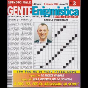 Gente Enigmistica - n. 3 - 8 febbraio 2020 - quindicinale - 100 pagine di vero passatempo