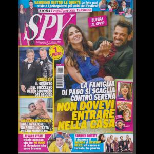 Spy - n. 6 - 7 febbraio 2020 - settimanale -