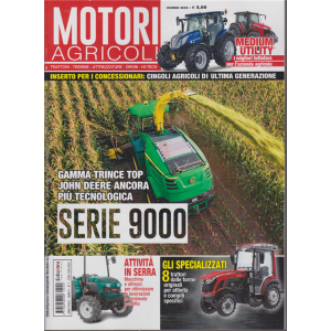 Motori agricoli - n. 7 - bimestrale - inverno 2020 -