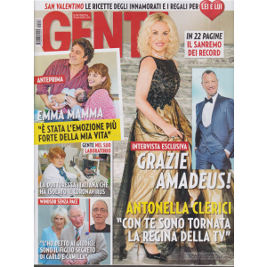 Gente - n. 6 - 15/2/2020 - settimanale