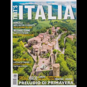 That's Italia - n. 34 - febbraio - marzo 2020 - bimestrale