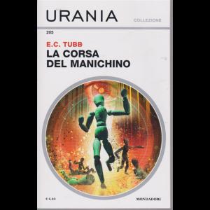 Urania collezione - n. 205 - La corsa del manichino - febbraio 2020 -