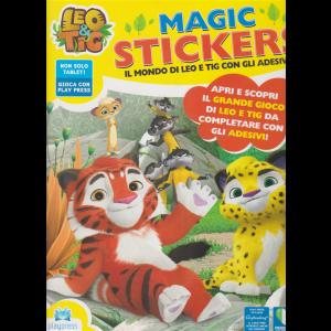 Leo & Tig magic stickers - n. 1 - febbraio - marzo 2020 - bimestrale