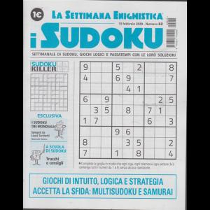 La settimana enigmistica - i sudoku - n. 82 - 13 febbraio 2020 - settimanale