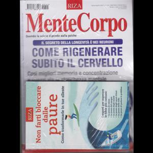 MenteCorpo - n. 144 - marzo/aprile 2020 - bimestrale - Come rigenerare subito il cervello + il libro Non farti bloccare dalle paure - rivista + libro