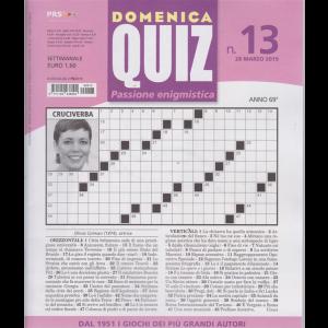 Domenica Quiz - n. 13 - 28 marzo 2019 - settimanale