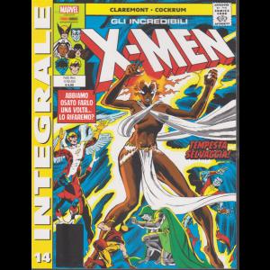 Gli incredibili x-men - Integrale - n. 14 - mensile - 13 febbraio 2020 - Tempesta selvaggia!