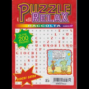 Raccolta I puzzle di relax - n. 87 - bimestrale - luglio - settembre 2017 - oltre 200 pagine!