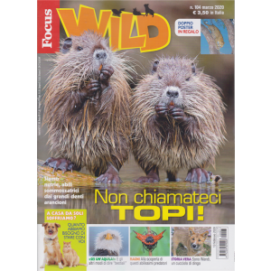 Focus Wild - n. 104 - marzo 2020 -