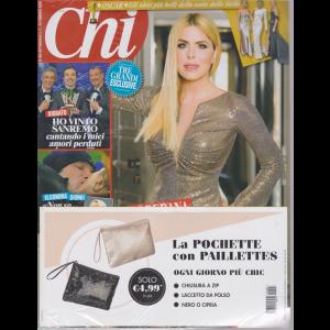 Chi + La pochette con paillettes - n. 7 - settimanale - 12 febbraio 2020