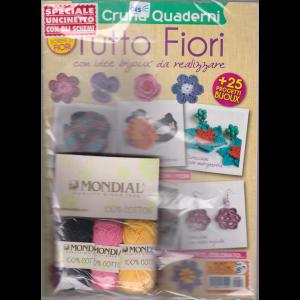Punti e colori - Tutto fiori - Cruna Quaderni - n. 58 - bimestrale -