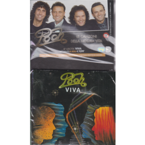 Cd musicali di Sorrisi - Pooh - Viva- sesta uscita - cd + libretto - settimanale - 14 febbraio 2020