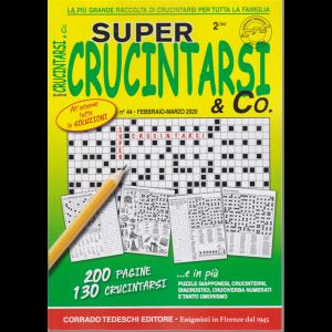 Super Crucintarsi & Co. - n. 44 - febbraio - marzo 2020 - trimestrale - 200 pagine - 130 crucintarsi