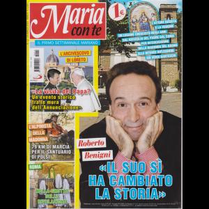 Maria Con Te - n. 12 - 24 marzo 2019 - settimanale