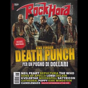 Rock Hard - n. 65 - febbraio 2020 - mensile