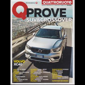 Quattroruote - Q Prove suv & Crossover - n. 77 - trimestrale - agosto 2019 -