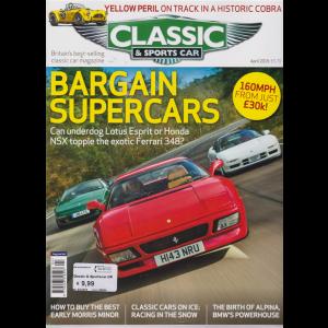 Classic & Sportscar Uk - n. 90004 - april 2019 - in lingua inglese