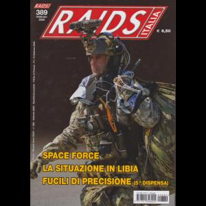Raids Italia - n. 389 - febbraio 2020 - mensile -