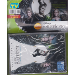 Sorrisi e canzoni tv - + dvd Disney - Maleficent signora del male - rivista + dvd
