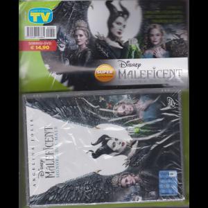 Sorrisi e canzoni tv - + dvd Disney - Maleficent signora del male - rivista + dvd