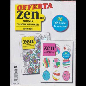 Offerta zen n. 8 - bimestrale - Mandala e disegni antistress