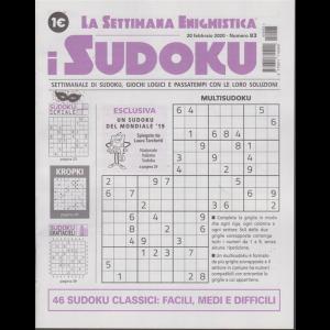 La settimana enigmistica - i sudoku - 20 febbraio 2020 - n. 83 - settimanale