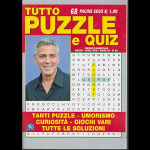 Tutto puzzle e quiz - bimestrale - marzo - aprile 2020 - n. 66 - 68 pagine