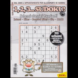 1,2,3....sudoku! - n. 174 - marzo 2020 - mensile