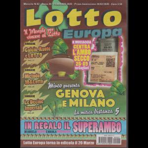 Lotto Europa - n. 2 - mensile - febbraio 2020 -