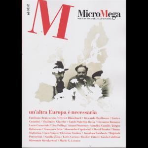 Micromega - Un'altra Europa è necessaria - bimestrale - 21/3/2019 - n. 2 -