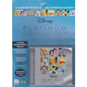 Cd Sorrisi Speciale -n. 10 - Disney the Platinum collection volume 2 - doppio cd - settimanale - 19/3/2019