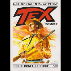 Tex l'inesorabile - Albo speciale n. 35 - febbraio 2020 - annuale - 240 pagine