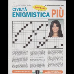 Civiltà enigmistica più - n. 348 - mensile - marzo 2020