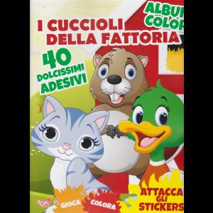 Album color - I cuccioli della fattoria - n. 35 - bimestrale - 13 febbraio 2020